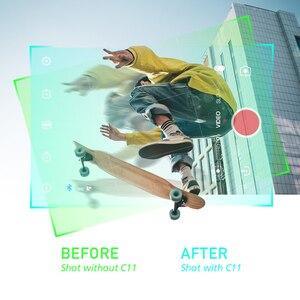Image 4 - ZHIYUN CINEPEER C11 Gimbal الذكي 3 المحور يده Gimbal استقرار كاميرا Gimbal مثبت ل فون/سامسونج/Xiaomi