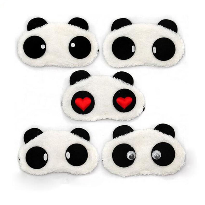 Wholesale Cute Panda Sleeping Face Eye Mask Blindfold Eyeshade Traveling Sleep Eye Aid
