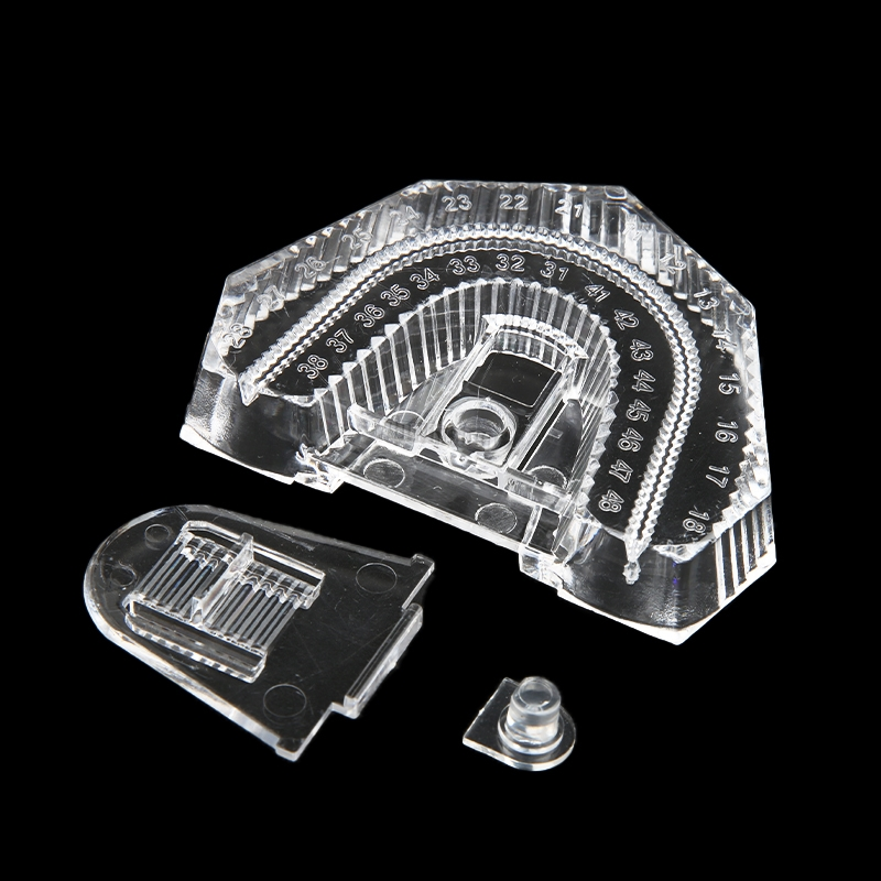 50 pces dental modelo transparente inferior molde