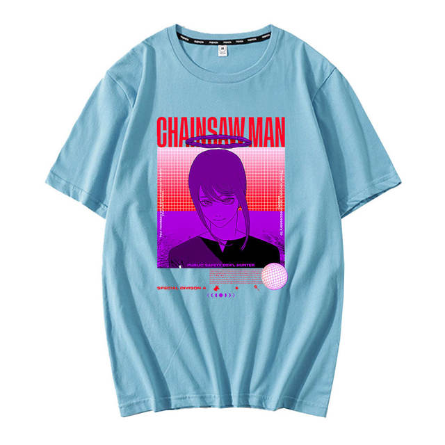 CHAINSAW MAN THEMED T-SHIRT (10 VARIAN)