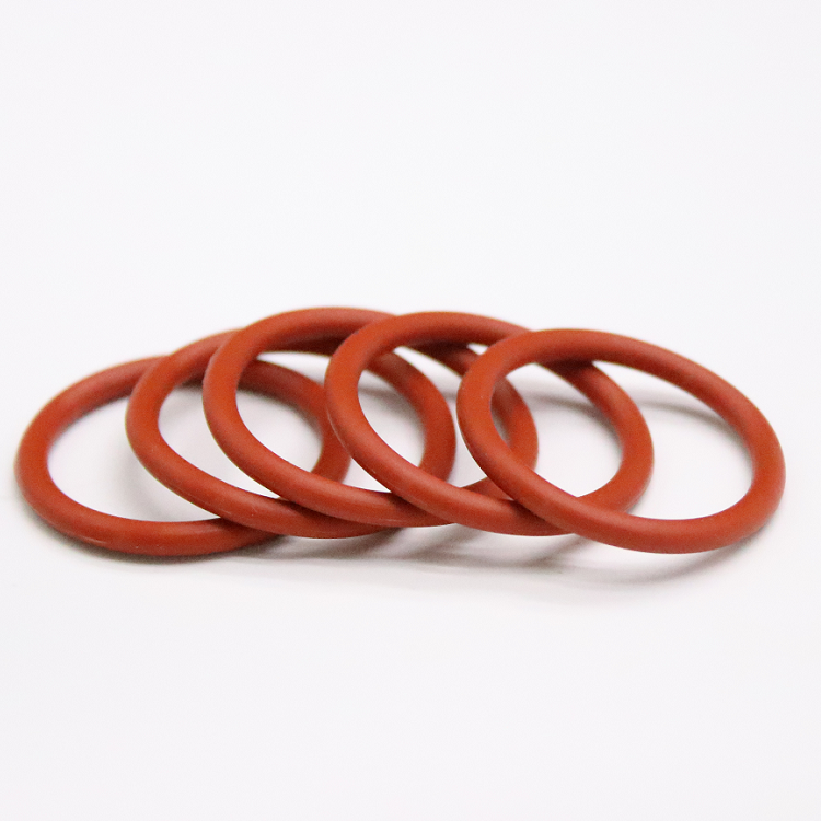 5mm-40mm OD White O Rings Seals 1mm Wire Diameter Food Grade Silicone O-Ring