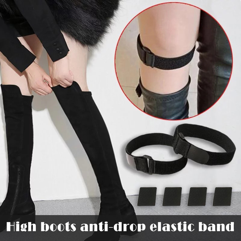 Non-Slip Tape Adhesive Straps For High Boots Anti Slip Anti Dropping Belt Sticker Set J55
