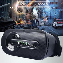 2019 VR 3D Glasses Box Stereo VR Headset 4.5-6 inch Helmet for IOS for Android Smartphone,VR glasses for smartphone(China)