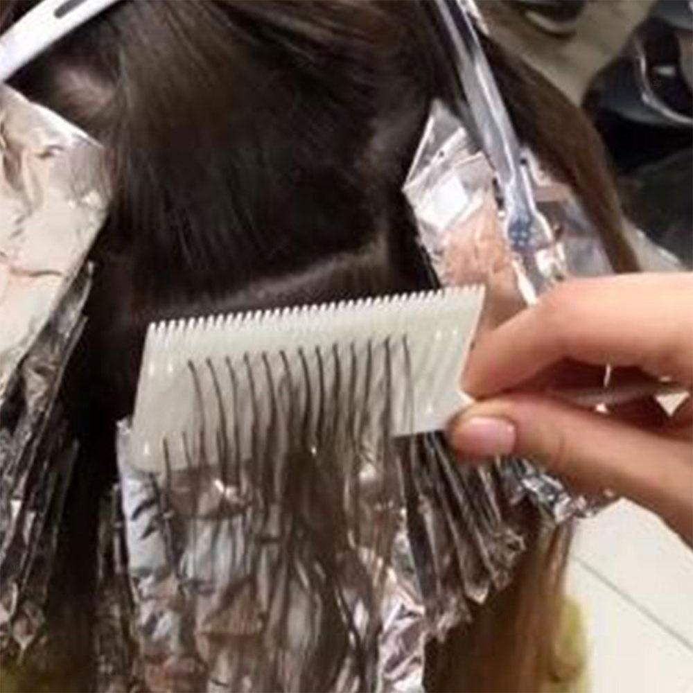 Professional One-way Sectioning Weave Highlighting Foiling Hair Comb High Temperature Resistance
