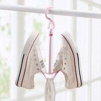 Vento sapatos gancho multifuncional secagem sapato rack varanda rack de ar prateleira do agregado familiar receber