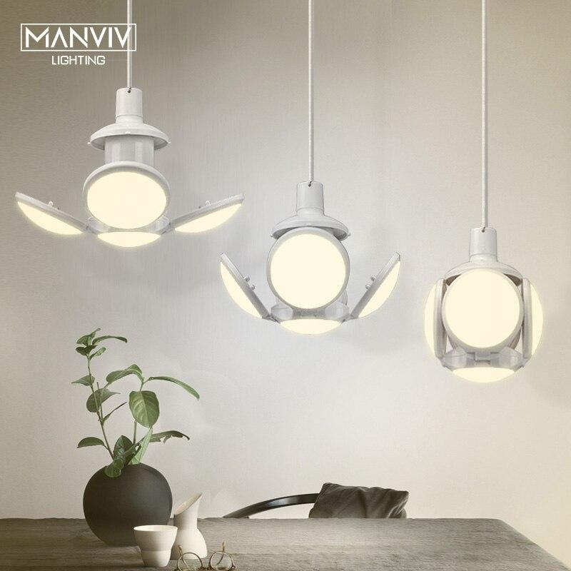 E27 LED Bulb Lamp Super Bright LED Folding Bulb LED Light For Living Room Bedroom Dining Room Creative Home Lighting