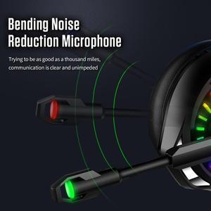 Image 4 - A20 PS4 Gaming Kopfhörer 4D Stereo RGB Festzelt Kopfhörer Headset mit Mikrofon für Xbox One/Laptop/Computer tablet Gamer