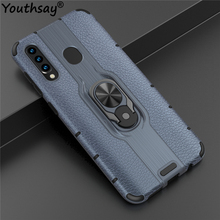 For Samsung Galaxy A50 Case TPU+PC Phone Finger Holder Bumper Cover Youthsay