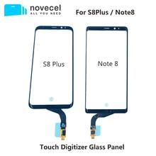 Novecel für Samsung Galaxy S8 plus G955 Note8 N950 Touchscreen Digitizer Glas Panel Front Glas Sensor Touchscreen Relacement
