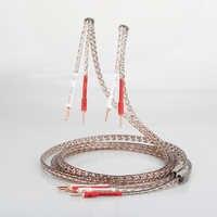 Cable de altavoz de alta fidelidad con conector de cobre puro para cine en casa par Viborg VS903