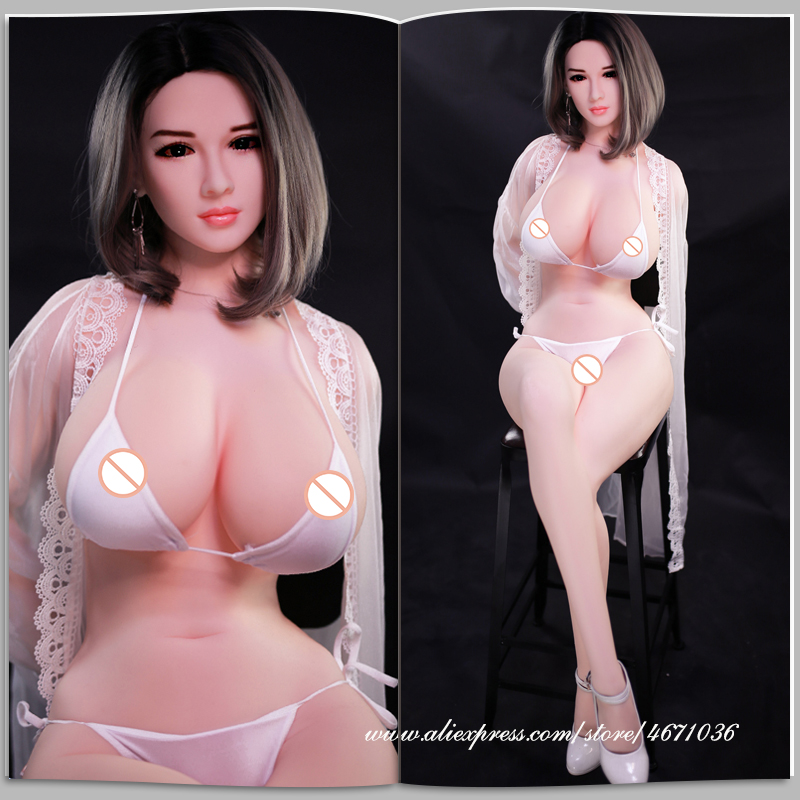 Cheap Price 165cm Real Full Body Big Breasts Female Silicone Sex Doll for Men Sex Toys