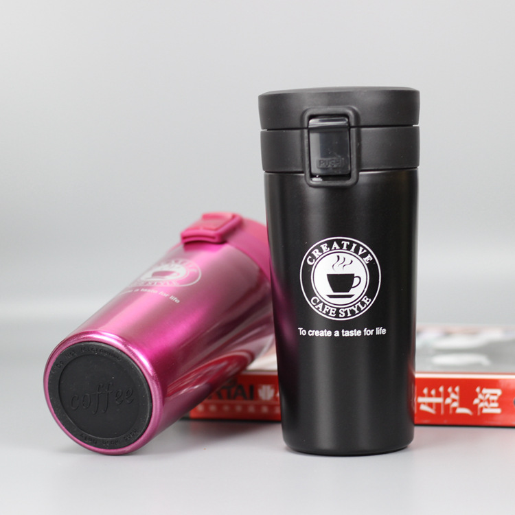 He414d21ed30b4326bc9b56cbfaa9e8c8a HOT Premium Travel Coffee Mug Stainless Steel Thermos Tumbler Cups Vacuum Flask thermo Water Bottle Tea Mug Thermocup