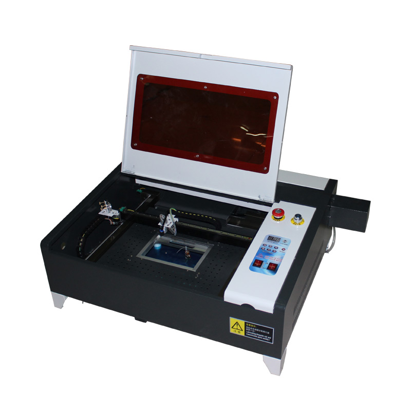 LY 4040 50W laser gravur maschine mini desktop laser stecher maschine 40*40