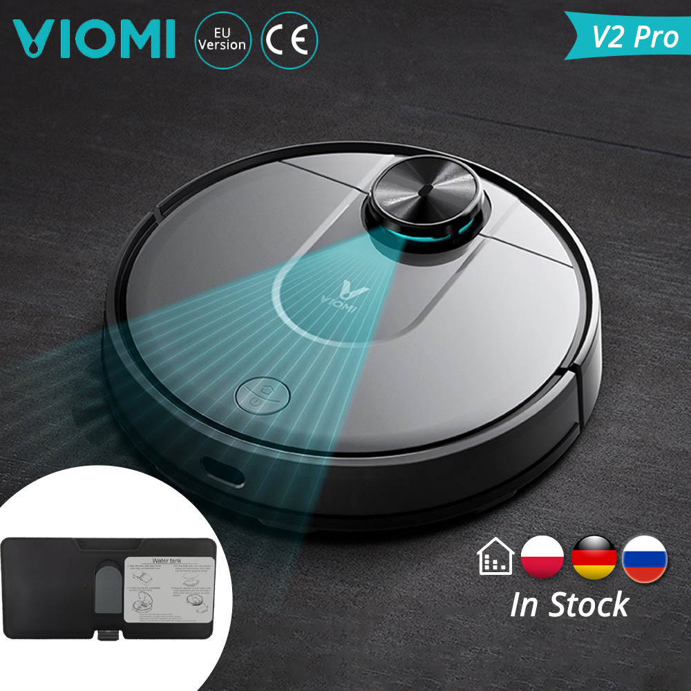 [In Stock]VIOMI Robot Vacuum Cleaner Xiaomi V2 Pro Smart Clean High Suction LDS VS Xiaomi V2 Laser Navigation Electric Control