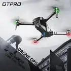 Mini dobrável 4 k câmera hd câmera dupla profissional zangão gps rc helicóptero brushless motor inteligente após quadcopter