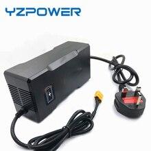 YZPOWER Rohs CE חכם 84 v 2A ליתיום סוללה מטען עבור חשמלי כלי רובוט חשמלי רכב li על סוללה 72 v עם מובנה מאוורר
