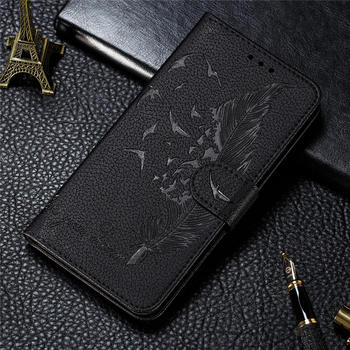 HONOR 10X Lite 3D Embossed Leather Case For Huawei Honor 9X Lite Card Cover Magnet Wallet Pouch for Honor 9X 9 X Pro Fundas