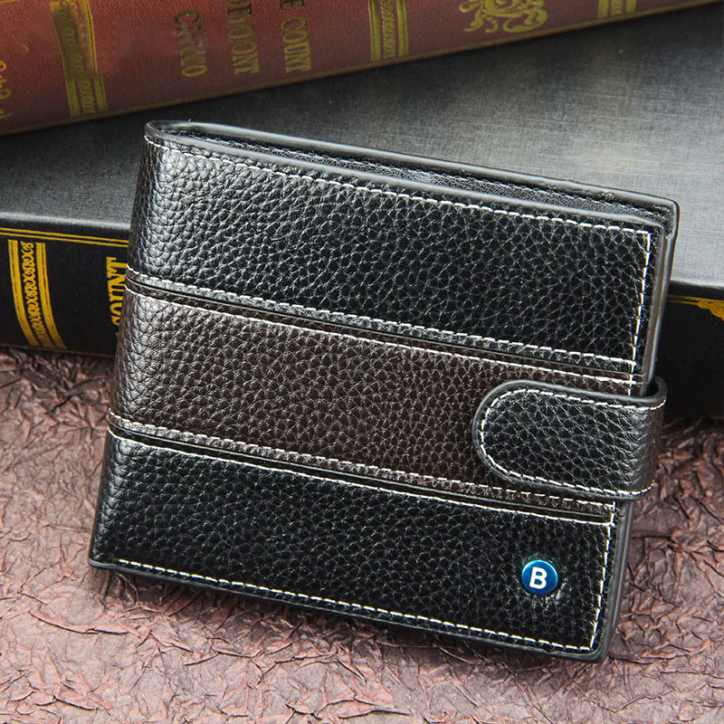 Men's Wallet Valets Man Short Cartera Hombre Pequena Note 10+ Magnetic Wallet Carteira Perfect For You Magnetic Purses Small