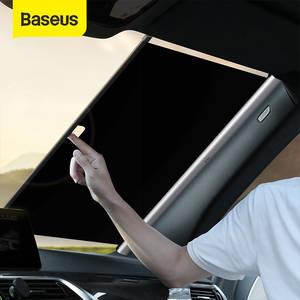 Car Sunshade Windshield Sun-Block Baseus Foldable Retractable Auto Car-Front Rear