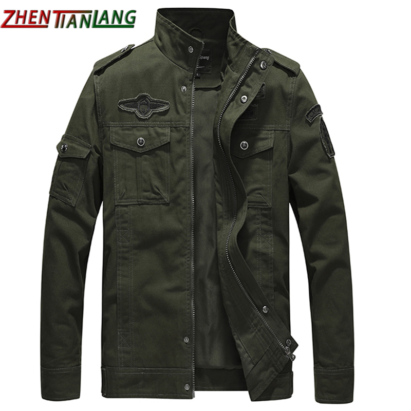 Air Force Jacket Pure Cotton Men's Jacket Multi Pocket Tactical Large Cotton Wear-resistant Windproof Jacket Men's Military Jack