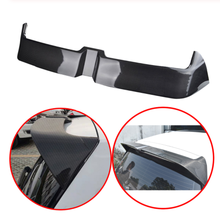 For Volkswagen Golf 7 mk7 GTI 2013-2019 Spoiler Carbon Fiber Decorative pattern rear wing Golf 7 GTI High quality ABS spoiler