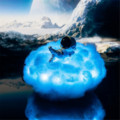 Led Rainbow Effect Night light Colorful Clouds Astronaut Lamp With As Children's Night Light Creative Birthday Gift