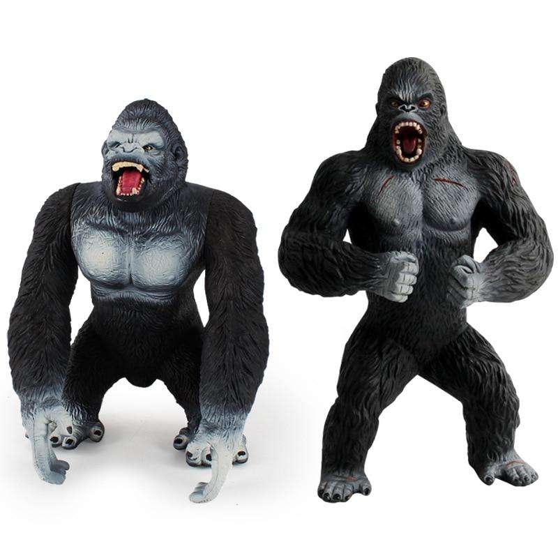 Chimpanzee Movies Wild Animals Monkey PVC Figure Gorilla Collectible Model Toy