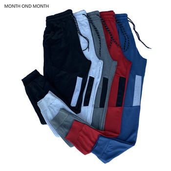 Męskie spodnie Fitness Street spodnie dresowe dla joggerów męskie spodnie na co dzień solidne siłownie treningowe spodnie sportowe męskie bawełniane luźne spodnie Trackpants tanie i dobre opinie Month ond month Ołówek spodnie CN (pochodzenie) Sznurek Mieszkanie Pełnej długości Poliester COTTON 26 7 - 33 07 Łączone