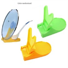 Multi-function folding lid Multi-Function Spoon Lid Holder Pot Stand Folding Rack Kitchen Practical Tool