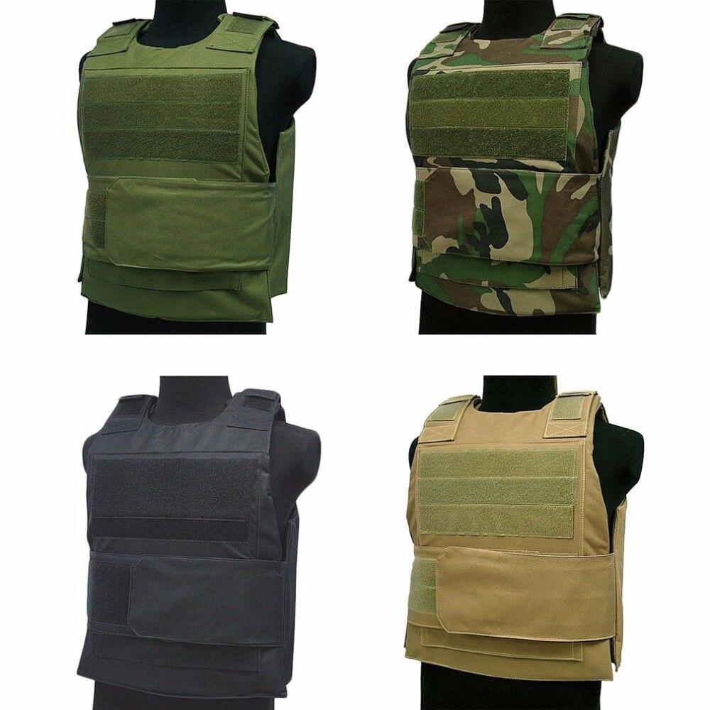 Tactical Vest Amphibious Battle Military Molle Combat Assault Plate Carrier Vest Hunting Protection Vest Stab-resist Camouflage