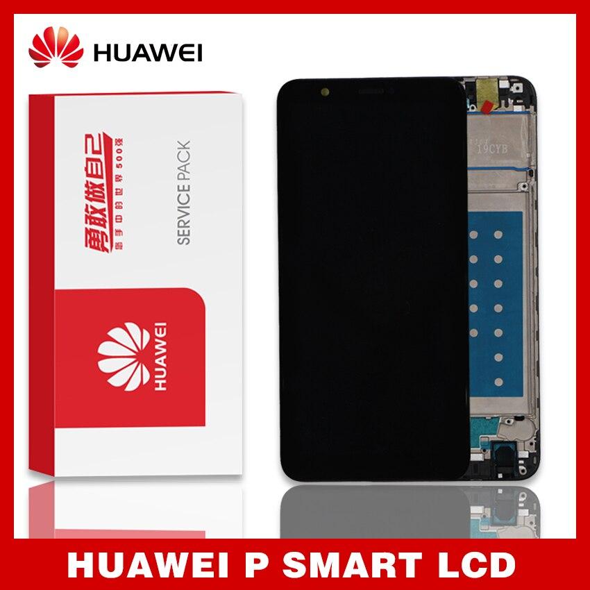 Оригинальный ЖК-дисплей для Huawei P Smart, сенсорный экран, дигитайзер в сборе для Huawei enjoy 7S, ЖК-дисплей с рамкой FIG LA1 LX1 L21 L22