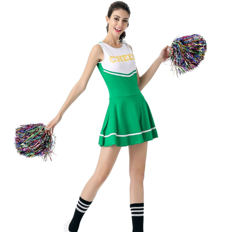 Football Basketball Sexy Baby Girl Stage Show Mini Dress Cheerleading Uniform Competition Masquerade Costume