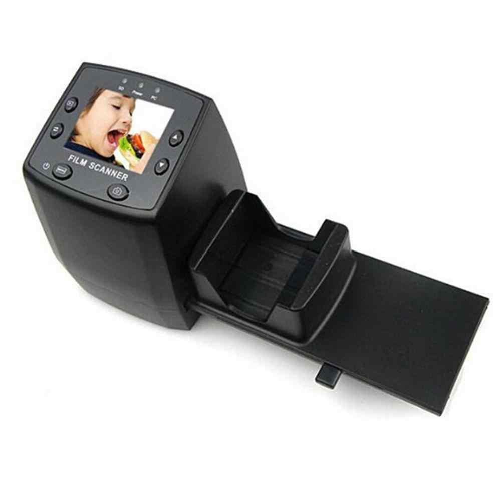 2.4 TFT LCD فيلم الماسح الضوئي عالية الدقة فيلم السلبية الشريحة عارض صورة الماسح ناسخة تحويل الأفلام الرقمية