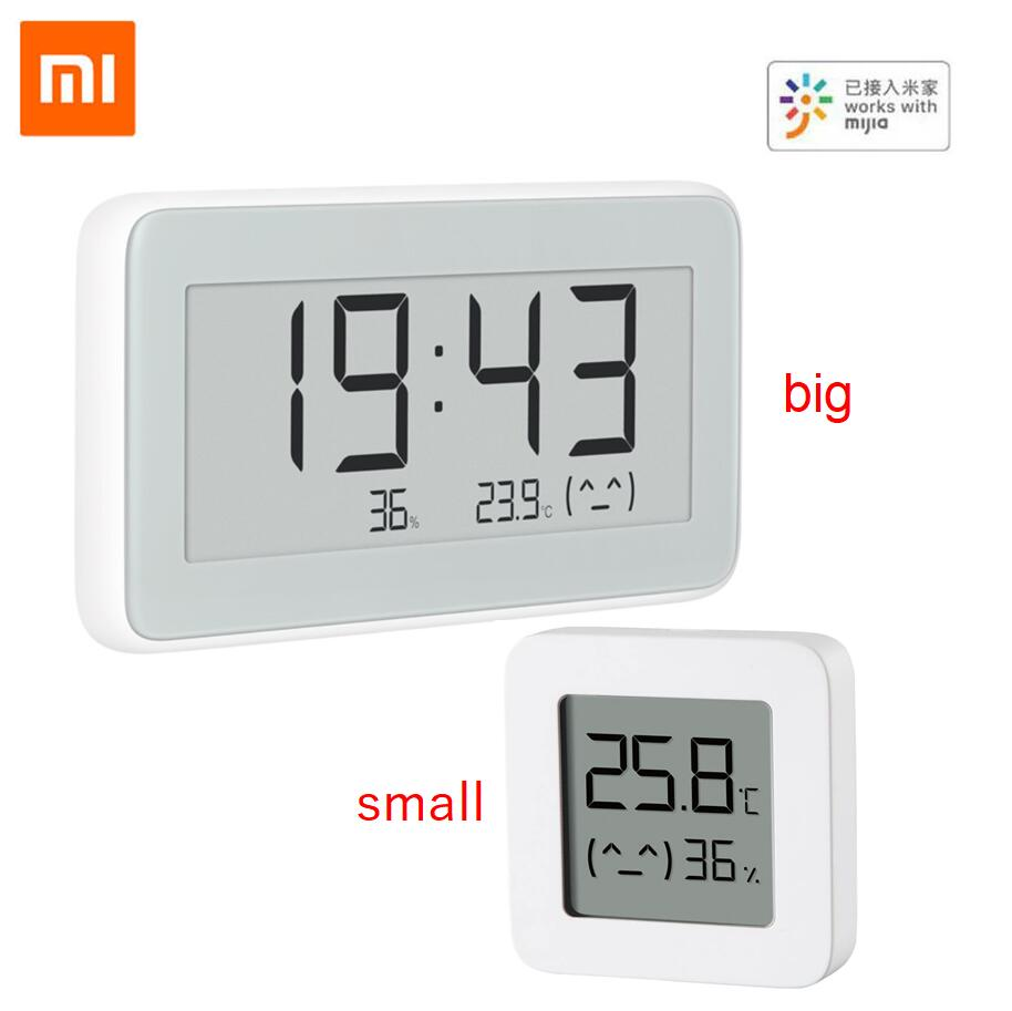 Xiaomi Mijia Bluetooth Digital Thermometer Temperature Humidity Sensor LCD Screen Hygrometer Moisture Smart Linkage Mi APP Gift