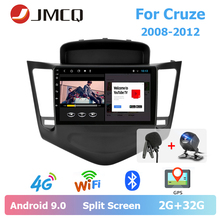 JMCQ 9 Car Radio For Chevrolet Cruze 2008-2012 Split Screen Multimedia Video output Players Stereos two Din Android 9.0 players jmcq 9 car radio 2 din android 9 0 player for kia sportage 2016 2018 multimedia video players stereos split screen with canbus