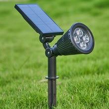 4 LED Lawn Lamp…