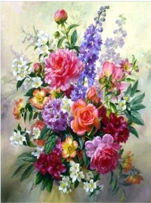 Photo en mosaïque de fleurs 5D   peinture, diamant, broderie, pleine rose, carré, photo de strass, diamant, mosaïque de fleurs, diy bricolage