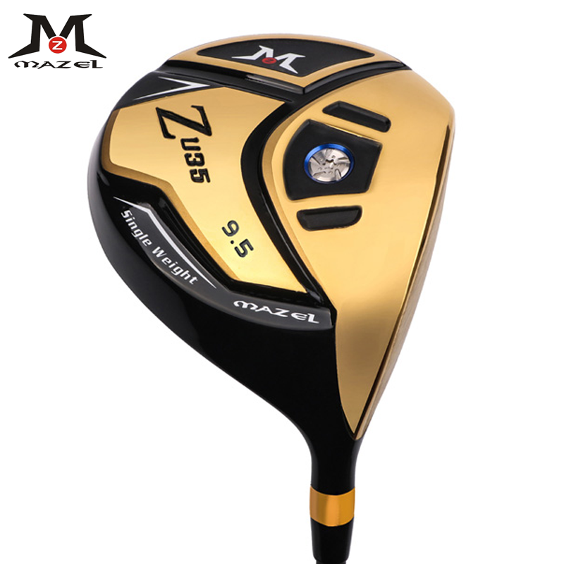 MAZEL Golf Driver Titanium Golf Clubs Regular Graphite Shaft 9.5 Degree Flex R RH 460CC