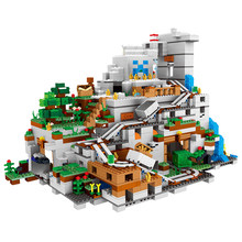 O novo 2688 pçs conjunto blocos de construção tijolos montanha caverna kits coleção exibição montagem crianças brinquedos