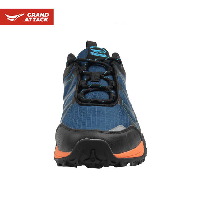 Grand Attack Lightweight Shoes Men Shoes color: Orange and navy|Red and black|Yellow and navy