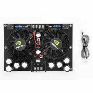Image 4 - 2 채널 고전력 100 w + 100 w 스테레오 디지털 앰프 보드 tda7293 amplificador 오디오 홈 시어터 XH A132