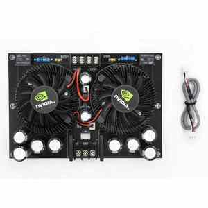 Image 4 - Amplificador Digital estéreo de dos canales, alta potencia, 100W + 100W, TDA7293, XH A132 de audio para cine en casa