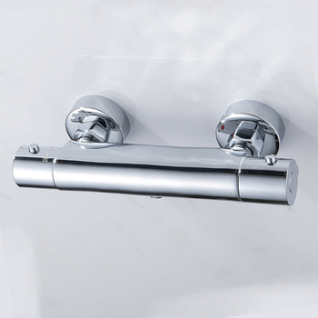 EVERSO Bathroom Shower Faucet Set Waterfall Shower Faucets Thermostatic Mixing Valve Thermostatic Shower Mixer