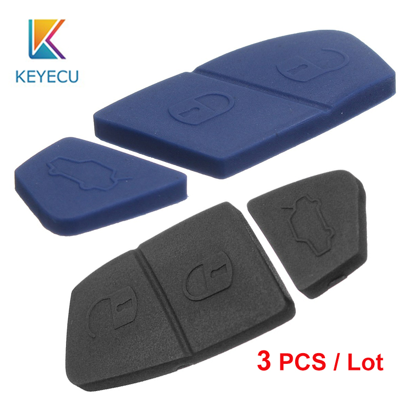 Automobile Locksmith Rubber Button Pad for 3 BMW Remote Key Repair