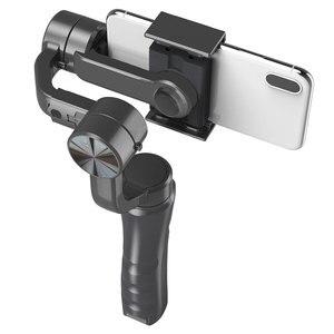 Image 3 - 3 축 핸드 헬드 짐벌 스마트 폰 안정기 USB 충전 비디오 녹화 지원 범용 조절 방향 Vlog Live