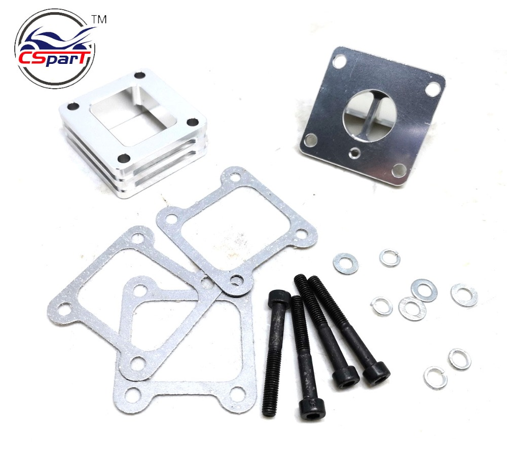 Performance 15MM CNC Reed  Valve Fibreglass 47CC 49CC Mini Moto ATV Quad Dirt Pit Pocket Bike Parts