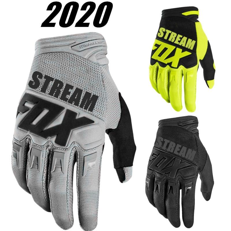 2020 STEAM FOX Motocross Gloves Moto Racing Gloves BMX ATV MTB Off Road Motorcycle gloves Mountain Bike MTB Gloves