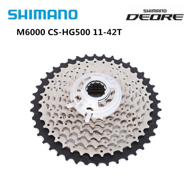 Shimano Deore M6000 HG500-10 Cassette 10S 10speed MTB bike freewheel HG500 42T