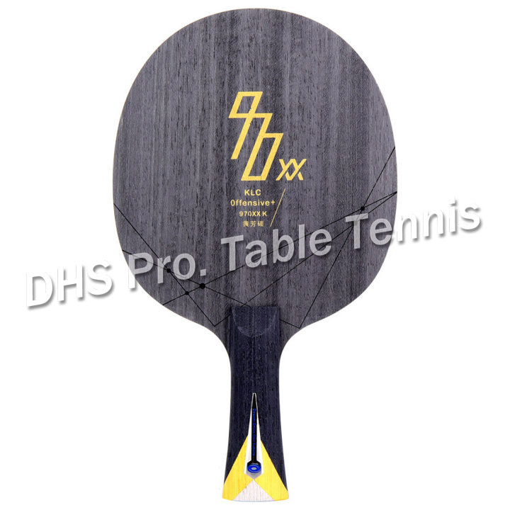 Orignal YINHE 970XX-KLC 20 Years Anniversary Arylate Carbon Table Tenis Blade/ Ping Pong Blade Free Shipping