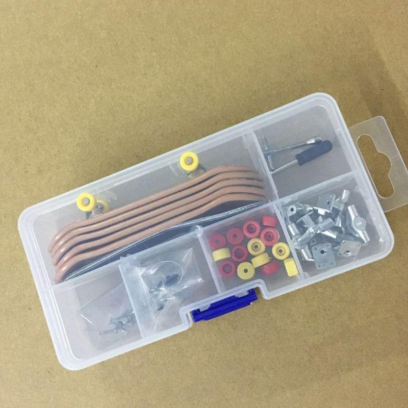 NEW Plastic Mini Finger Skating Board Table Game Toy Kids Children Finger Skateboard 4